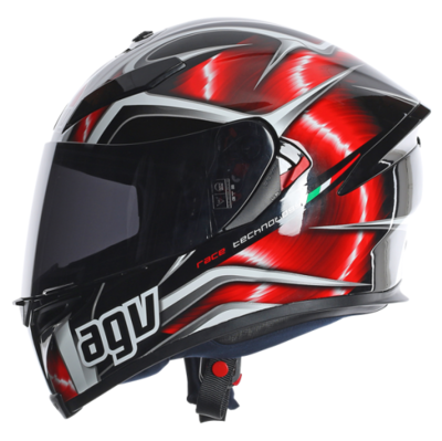 AGV K5 Hurricane Black/Red/White